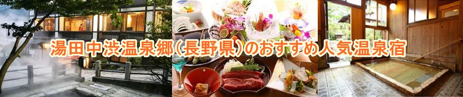 長野県・湯田中渋温泉郷のおすすめ人気温泉宿
